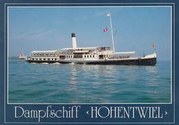 Steamer Steam Ship Dampfschiff Hohentwiel Hard Am Bodensee Austria - Passagiersschepen