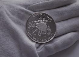 1 Dollar - Elizabeth II Canadian Ballet, 2001,Silver Proof Coin Box COA - Canada