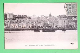 29 - AUDIERNE - Le Port Et La Ville - Audierne