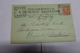 RUSSI   - RAVENNA  ---  DOMENICO BALDASSARI  -- DROGHERIA - Ravenna