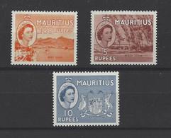MAURICE. YT   N° 253/255  Neuf **  1953 - Mauritius (...-1967)