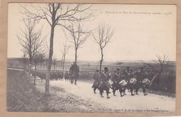 Infanterie Du Fort De Manonviller En Marche Tambour - Unclassified