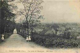 18 - Saint Amand - Vue Prise De Montrond - Animée - CPA - Voir Scans Recto-Verso - Saint-Amand-Montrond