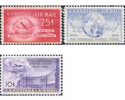 Ref. 654555 * MNH * - UNITED STATES. 1949. 75th ANNIVERSARY OF UPU . 75 ANIVERSARIO DE LA UPU - Unused Stamps