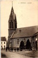 Thisselt Tisselt Kerk (circulee 1922) - Willebroek