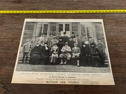 1906 PATI Autour Des Trônes Hoffrohen Fongner Rustad Reine Maud Comtesse D Antrim Nansen - Non Classés