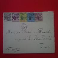 LETTRE MAURITUS ILE MAURICE POUR PARIS JOURNAL LA LIBRE PAROLE - Mauritius (...-1967)