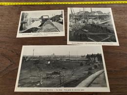 1906 PATI Bruxelles Maritime à L Amour écluse Sainctelette La Gare - Non Classés