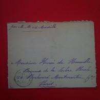 LETTRE MAURITUS ILE MAURICE POUR PARIS JOURNAL LA LIBRE PAROLE PAR M.M VIA MARSEILLE 1909 - Mauritius (...-1967)