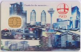 Singapore Old Cash Card Gemplus Chip Cashcard Used - Altri
