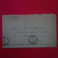 LETTRE MAURITUS ILE MAURICE LE MAURICIEN POUR PARIS JOURNAL LA LIBRE PAROLE 1909 - Mauritius (...-1967)