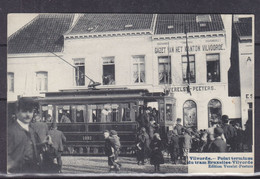 Belgique - Vilvorde - Carte Postale De 1912 - Point Terminus Du Tram Bruxelles Vilvorde - Rare - Vilvoorde