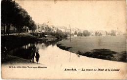 Aerschot Aarschot , La Route De Diest Et Le Démer ( Circulé ) - Aarschot