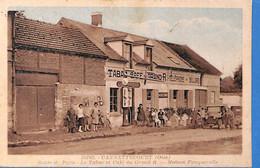 60 - Oise -  Cannettecourt - Route De Paris - Le Tabac Et Cafe  - Maison Fouquerolle   (N5991) - Sonstige Gemeinden