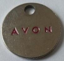 Jeton De Caddie - AVON - En Métal - - Einkaufswagen-Chips (EKW)