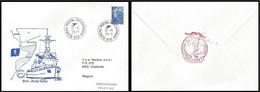 Enveloppe Souvenir / Herdenkingsomslag - F931 BNS Louise-Marie - 2010 - Kriegsausgaben