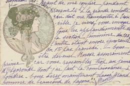 C P A  - Signé Mucha - Mucha, Alphonse