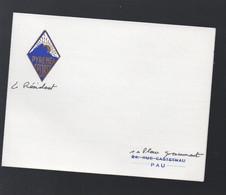 Pau (64 Pyrénées Atlantiques) Bristol PYRENEA SPORT Avec Texte Manuscrit Du Président  (PPP31671) - Non Classés