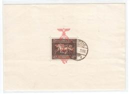 Deutsches Reich - Drittes Reich , Block 10 Gestempelt , Datum Nicht Lesbar - Blocs