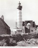 1976 - Héliogravure - Plougonvelin (Finistère) - Le Phare Saint-Mathieu - PREVOIR FRAIS DE PORT - Non Classés
