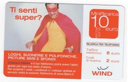 Ricarica WIND TI SENTI SUPER?, Taglio 10,00 Euro, Scadenza 31-12-2007, PUBLICENTER Usata - [2] Sim Cards, Prepaid & Refills