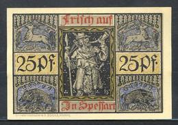 433-Aschaffenburg 25pf 1920 5ch. - [11] Emisiones Locales