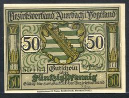 433-Auerbach 3x50 Et 3x75pf 1921 - [11] Emisiones Locales