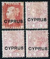 Chipre (Británico) Nº 2/3 LOTE - Cyprus (...-1960)
