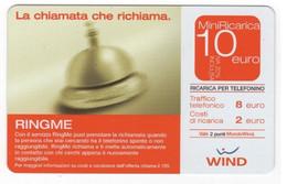 Ricarica WIND RING ME La Chiamata Che Richiama, Taglio 10,00 Euro, Scadenza 30/06/2007, Usata - [2] Sim Cards, Prepaid & Refills
