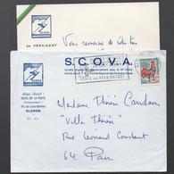 Oloron Ste Marie (64 Pyrénées Atlantiques) Bristol S.C.O.V.A.  Et Son Enveloppe  (PPP31675) - Non Classés
