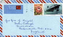 AFRIQUE DU SUD. N°502 De 1982 Sur Enveloppe Ayant Circulé. Sous-marin. - Submarines