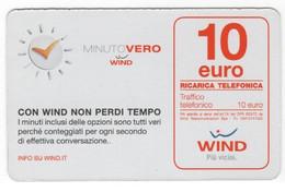Ricarica WIND MINUTO VERO Taglio 10,00 Euro, Scadenza 30/06/2017 Usata - [2] Sim Cards, Prepaid & Refills