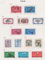 Italie N° 862 / 65 + 868 / 80 + 882 / 90 O   Les 26 Valeurs  Oblitérées,  TB - 1946-60: Used