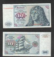 10 Deutsche Mark 1980 German Germania Deutschland - 10 Deutsche Mark