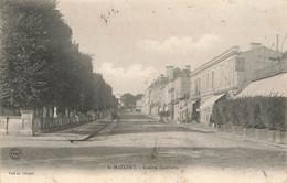 SAINT MAIXENT : AVENUE GAMBETTA - Saint Maixent L'Ecole