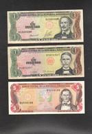 DOMINICANA Repubblica 3 Banknotes Pesos République Dominicaine - Dominicaine