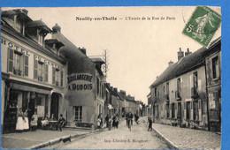 60 - Oise -  Neuilly En Thelle - L'Entree De La Rue De Paris - Hotel Du Centre   (N6024) - Sonstige Gemeinden