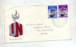 Lettre Fdc 1962 Hammarskjold - Surinam ... - 1975