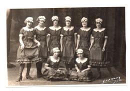 """Lyon. Danseuses. Photo G.L. Arlaud. Format CP.  Ballet """"La Bayadere"""" 1er Acte. - Baile"""