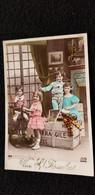 CP VIVE SAINT ST NICOLAS Enfant Jeu Jouets Jeux Cheval De Bois Quilles Tambour Poupée Alice Tillier Wimereux A Félicie - Gruppi Di Bambini & Famiglie