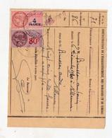 Fronton (31 Haute Garonne) Reçu 1941 Avec Timbres Fiscaux  (PPP31678) - Revenue Stamps