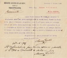LETTERA DATTILOSCRITTA - Ano 1929 - Non Classés