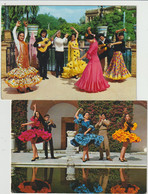Espagne- Danseuses -2 Cartes    (E.7640) - Baile