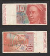 Svizzera 10 Francs 1979 HELVETIA Schweiz Suisse Switzerland - Suisse