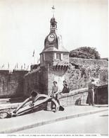 1976 - Héliogravure - Concarneau (Finistère) - L'horloge - PREVOIR FRAIS DE PORT - Non Classés