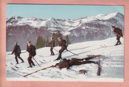 OLD POSTCARD - SWITZERLAND -  WINTERSPORT - SKI - VD Vaud