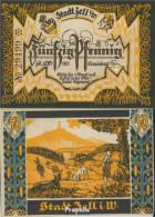 Zell Im Wiesental Notgeld: 1467.1 3. Ziegenhirt Notgeld Stadt Zell Im Wiesental Bankfrisch 1921 50 Pfennig - Austria