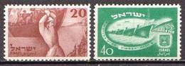 Israel MH Pair - Ungebraucht (ohne Tabs)