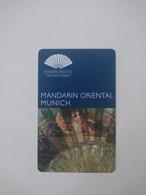 Germany Hotel Key, Mandarin Oriental Munich, (1pcs) - Chiavi Elettroniche Di Alberghi