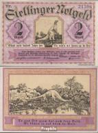 Stellingen Notgeld: 1265.1 2 Mark Notgeld Gemeinde Stellingen Bankfrisch 1920 2 Mark Tierparkserie - Austria